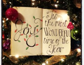 The most wonderful time…