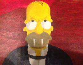 Vampire Homer