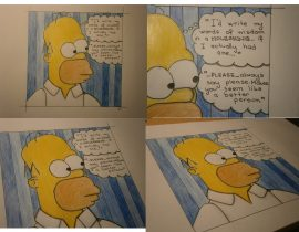 Homer's word of wisdom