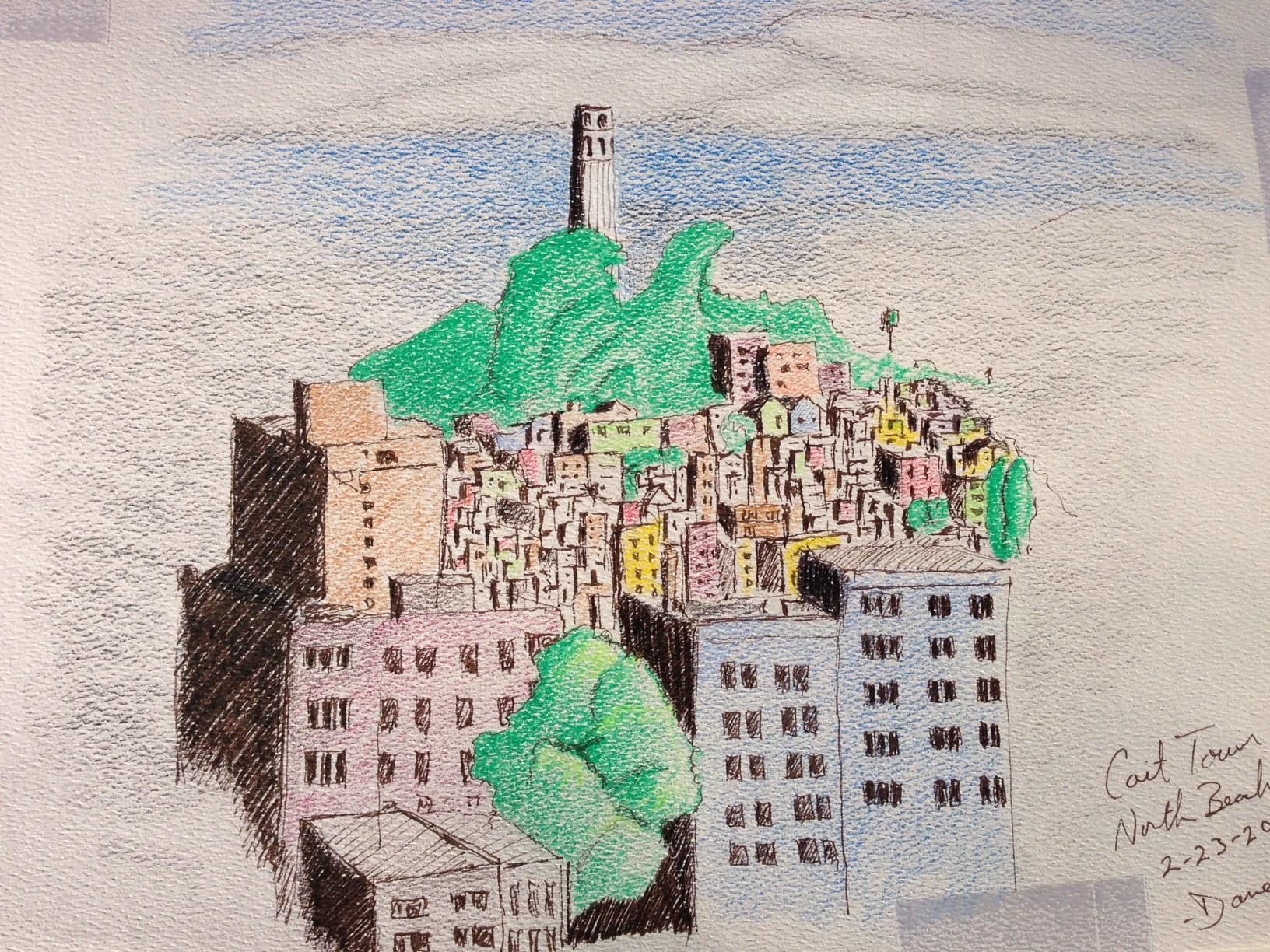 Coit Tower North Beach SF, CA