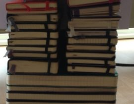 A Lot of Moleskines