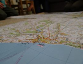 Brighton, Dieppe to Paris cycle