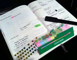 Analog Wins Over Digital in Planners