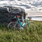 Cyclotouring astride a vintage randonneuse