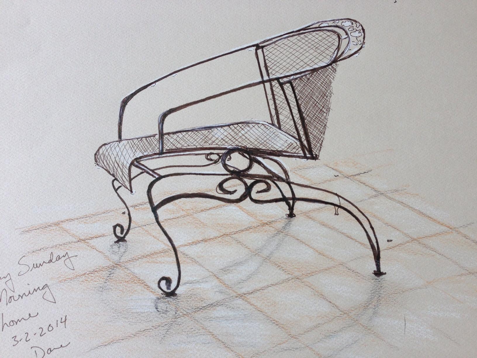 Chair in Rain