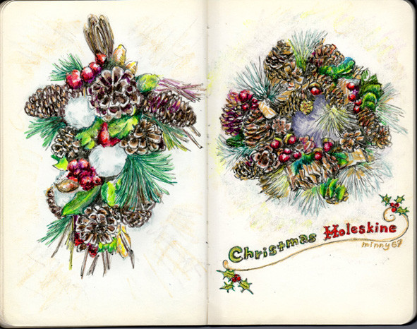 Christmas Moleskine 2013