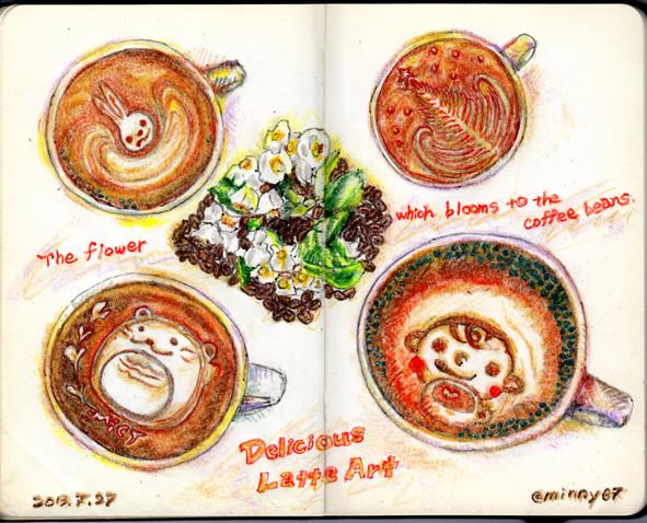 Delicious Latte Art
