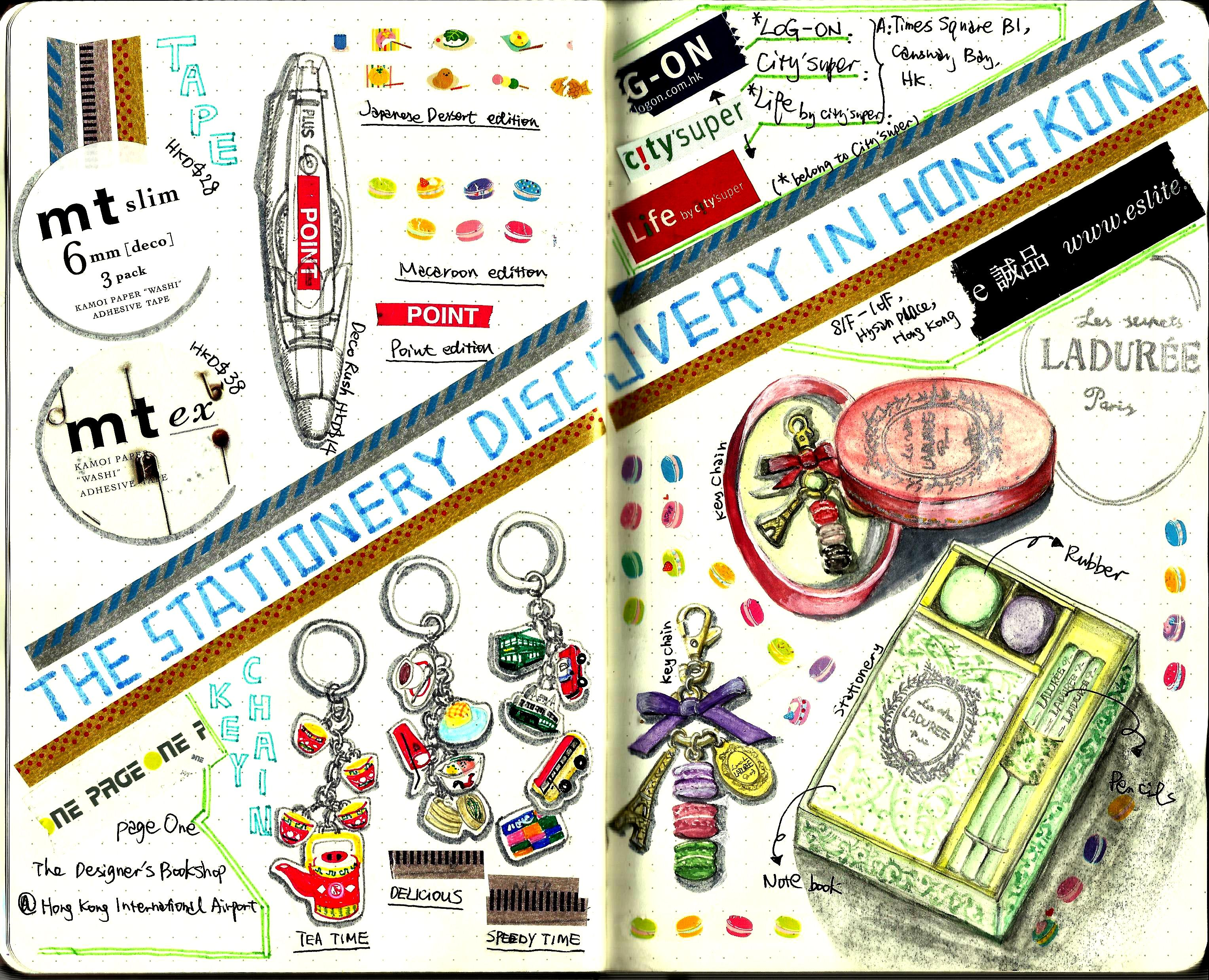 Stationery discovery in Hong Kong
