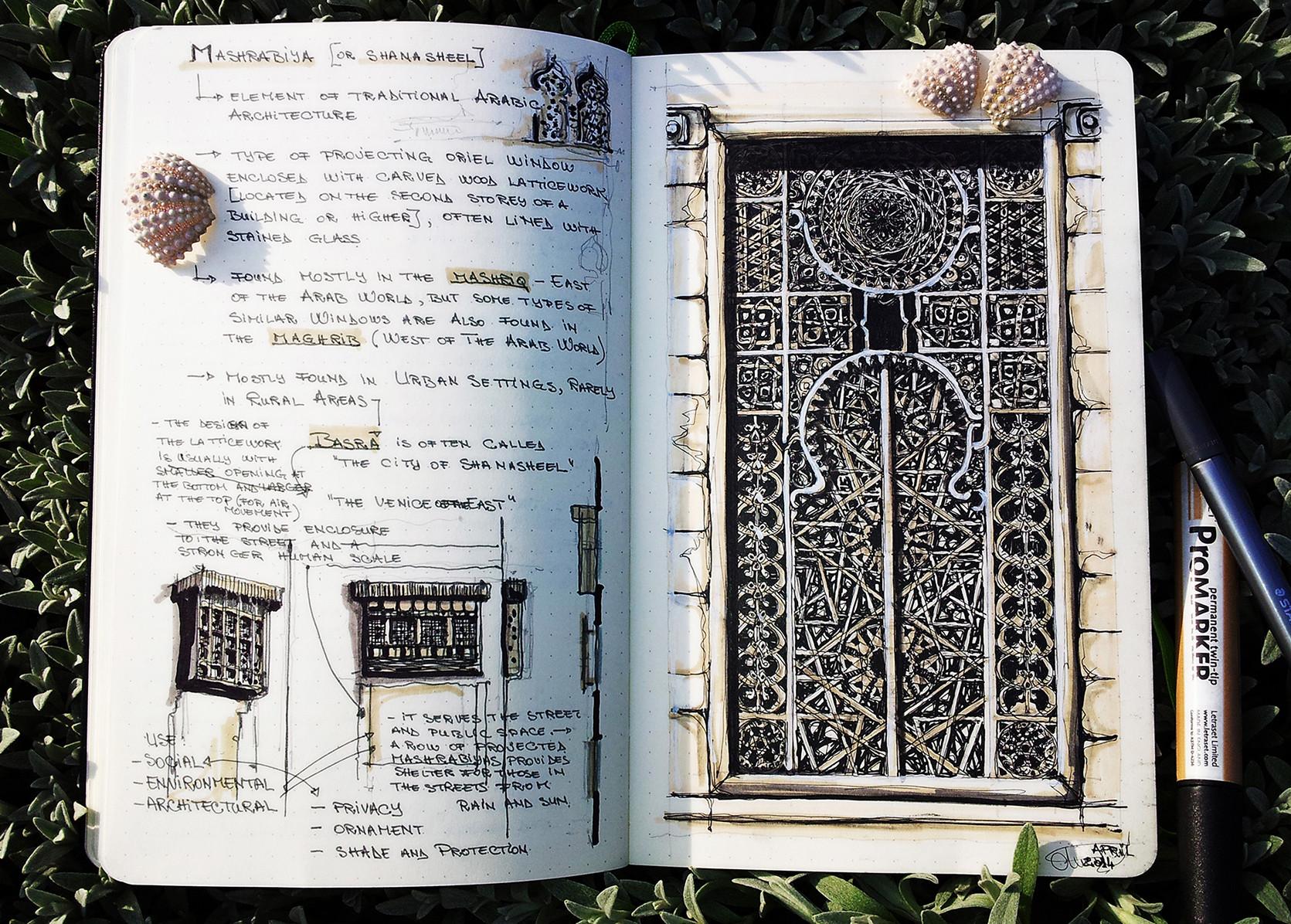 Mashrabiya study