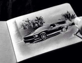 Mustang Take Off