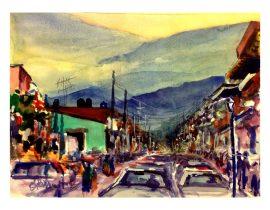 Tráfico en Coatepec, Ver.