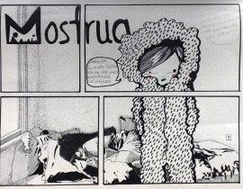 Que hay bajo la cama del Monstruo Violeta