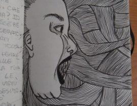 She screams!