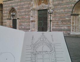 duomo di Messina, portone