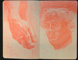 David, Sculpture by Michelanglo