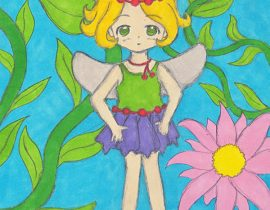 Fairy in colour
