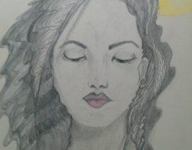 Nadia, life draw