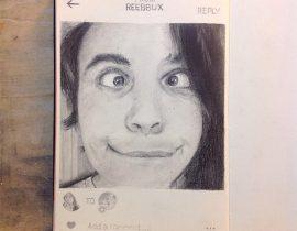 Instagramer on Moleskine XVI