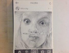 Instagramer on Moleskine XV