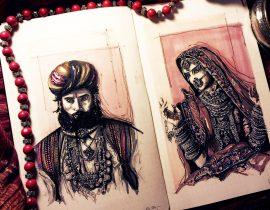 The Rabari Couple