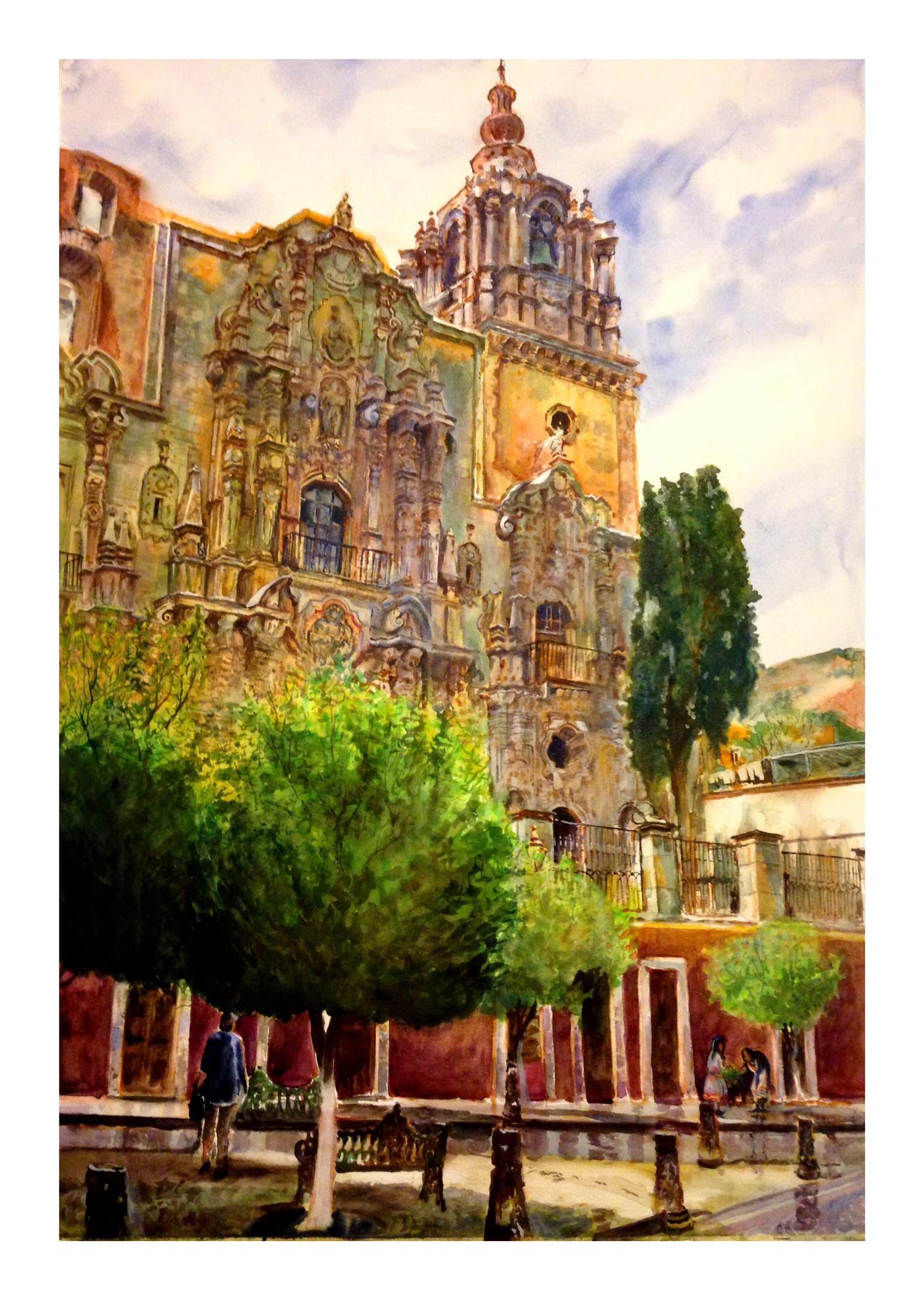 Iglesia de la Compañía en Guanajuato, Gto.