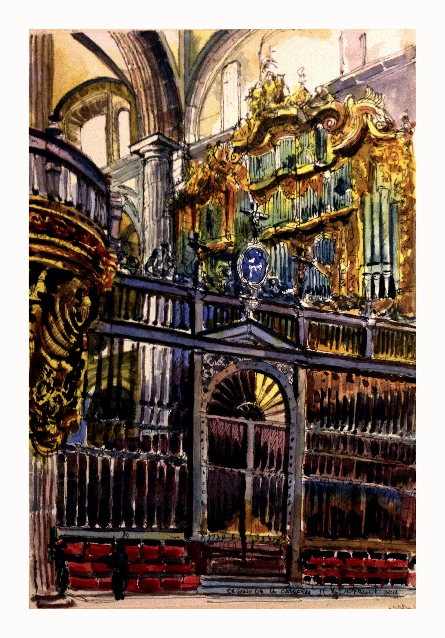 Órgano de La Catedral Metropolitana!