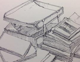 Sketch of my workspace