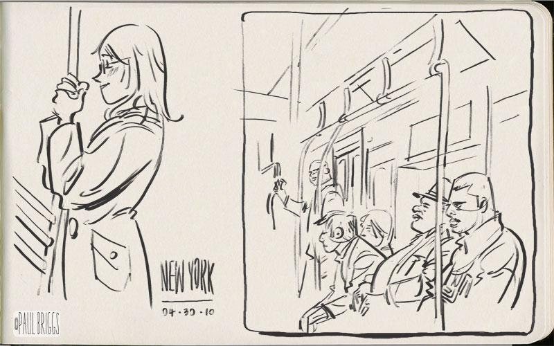 Paul Briggs – sketch 001