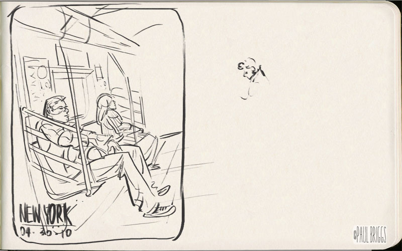 Paul Briggs – sketch 002