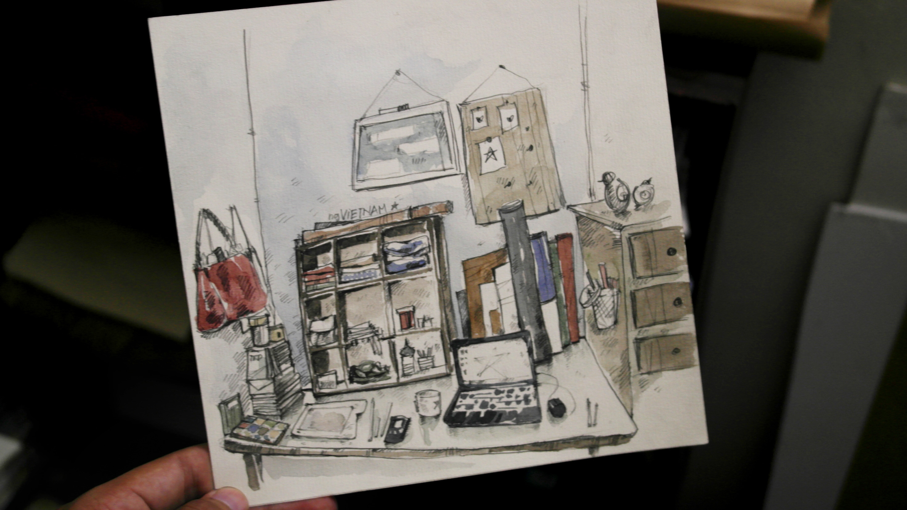 FastSKETCH of my WORKspace