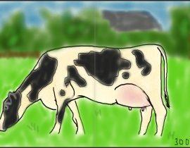 (Very Dutch) cow