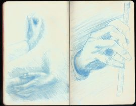Study of Arms and Hands & Study of a Hand (Leonardo da Vinci)