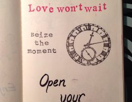 Love won't wait.