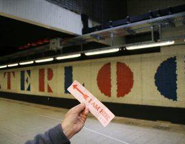 Metro station Waterloopplein