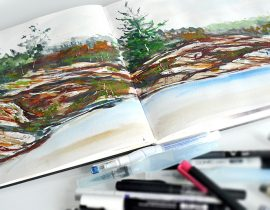 A3 MOLESKINE ART PLUS WATERCOLOR ALBUM