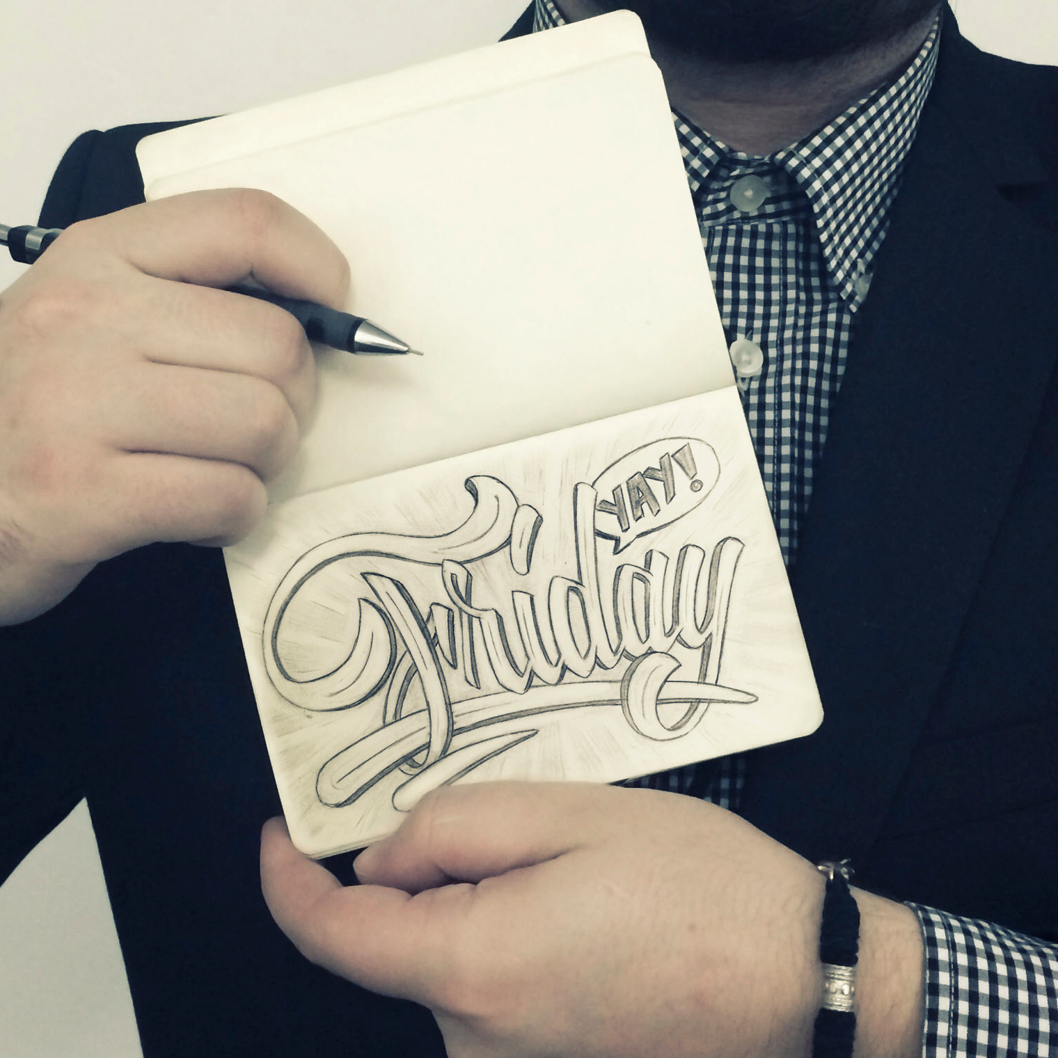 A Week Of Lettering – Friday