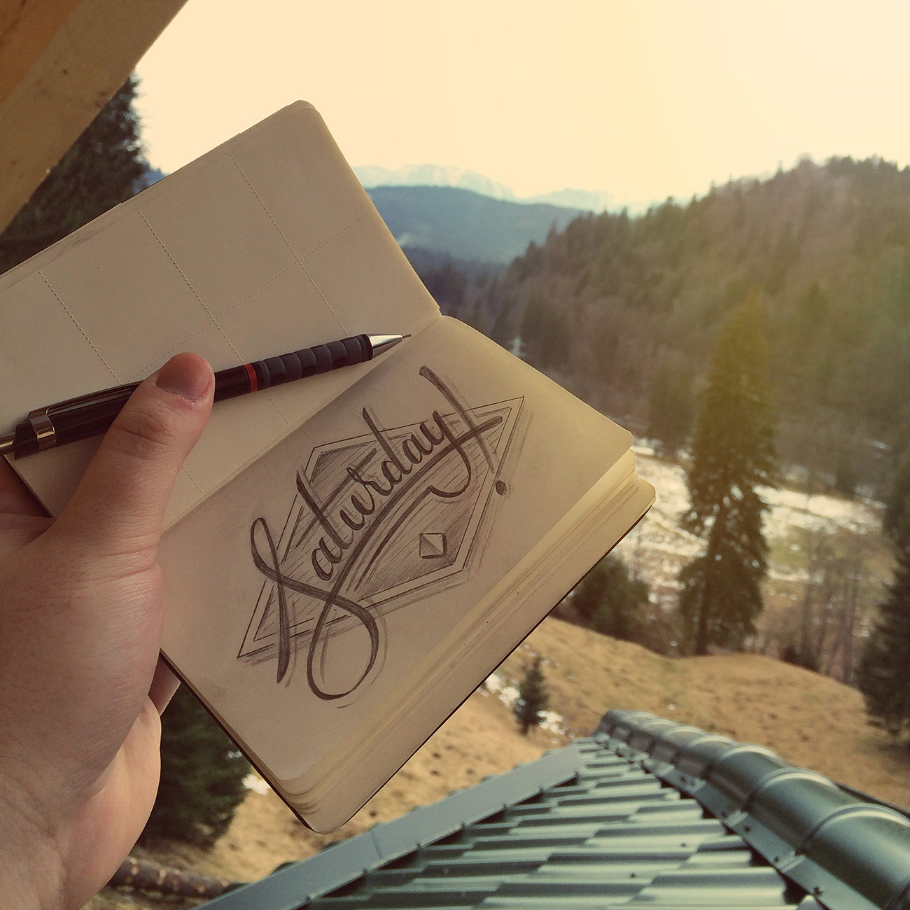 A Week Of Lettering – Saturday