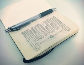 A Week Of Lettering – Monday