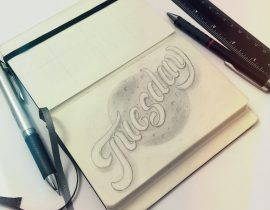 A Week Of Lettering – Tuesday