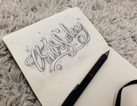 A Week Of Lettering – Thursday