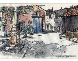 Cabrière d'Avignon Town Square