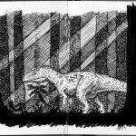 Giganotosaurus in the woods