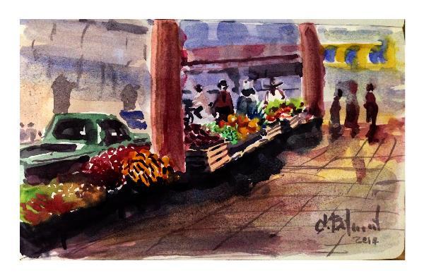 El Mercado en Jiquílpan