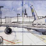Frankfurt's Airport.
