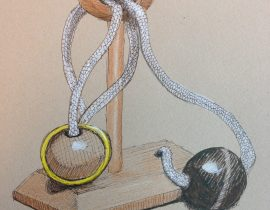 Ring, Ball, Rope Puzzle