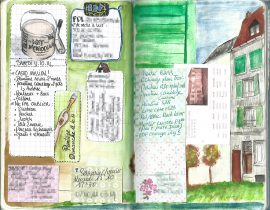 Notes. The French Crooked House with Green Blinds