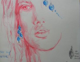 Nazar inspired sketch