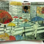Tokyo in the rain inspiration