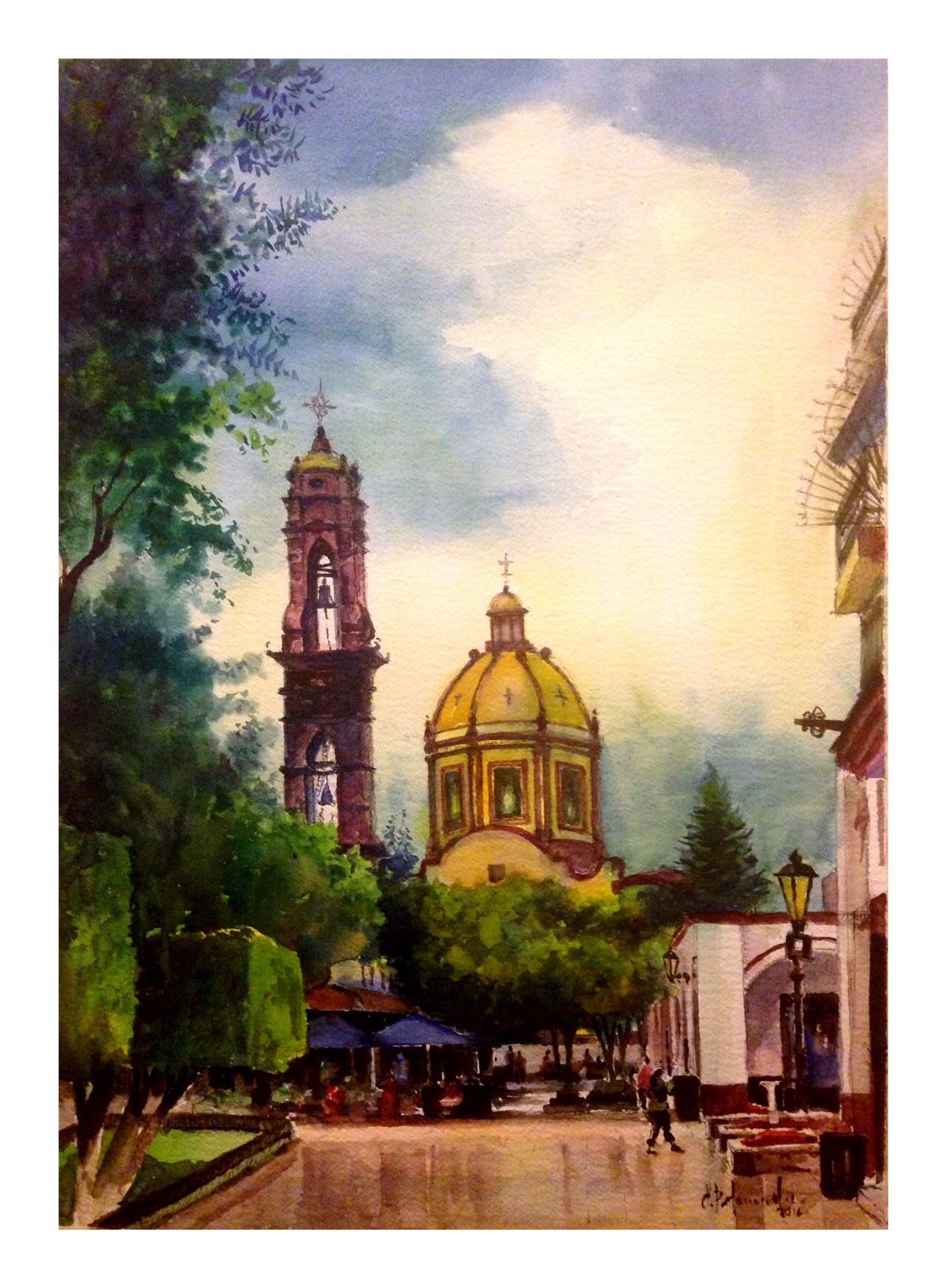 Iglesia de San Francisco en Jiquilpan