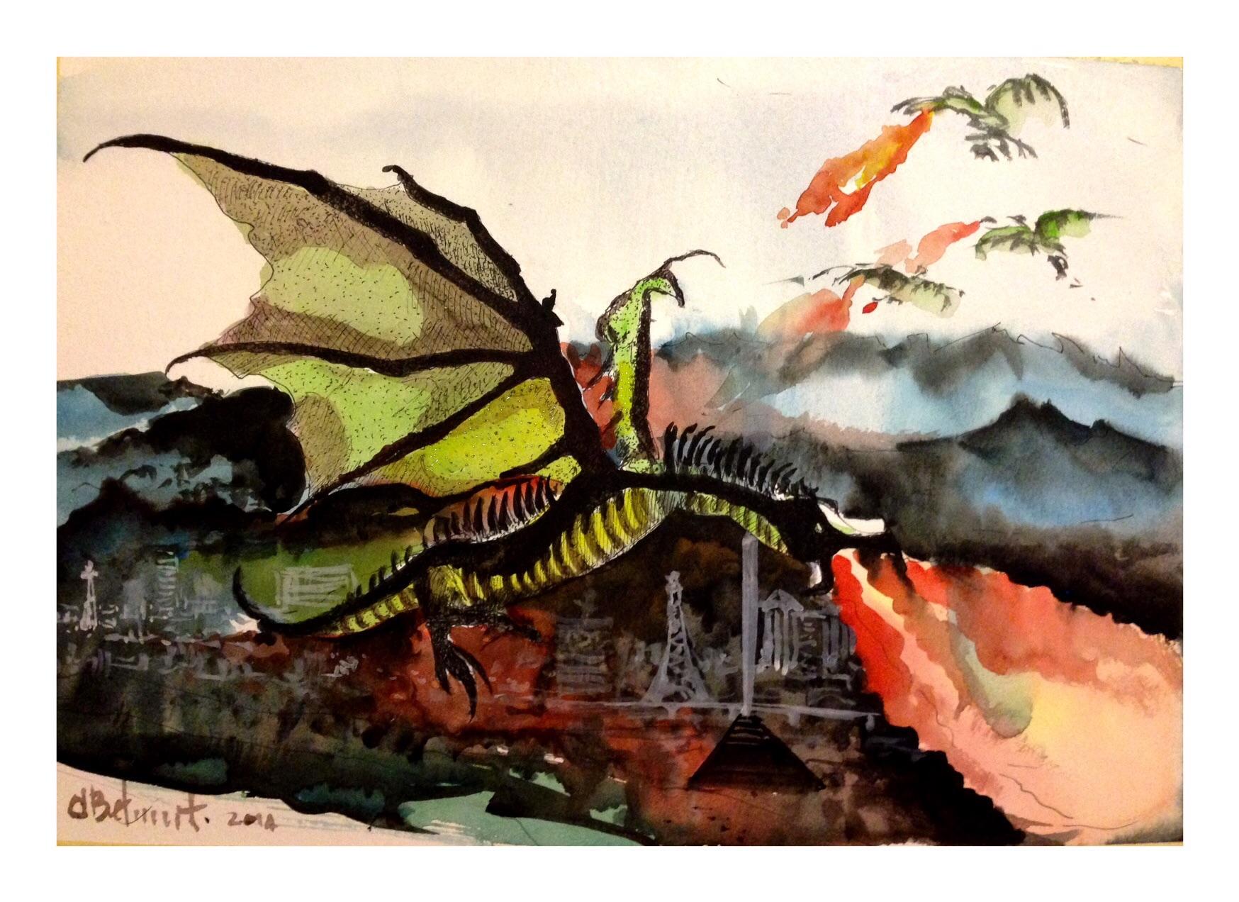 Dragones en las Vegas